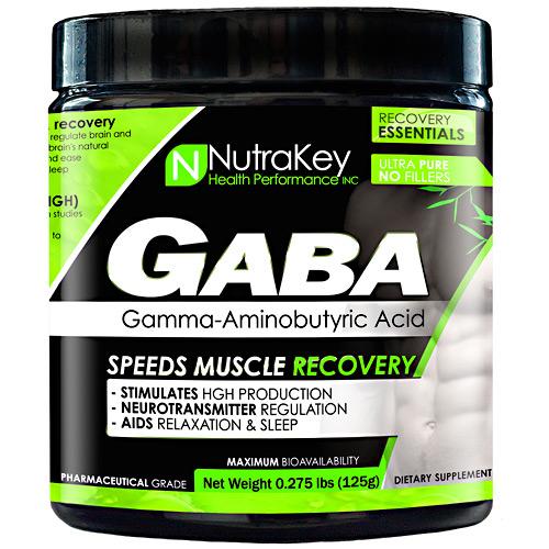 Nutrakey GABA Unflavored - 42 Servings