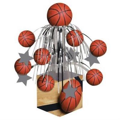 Sports Fanatic Basketball Mini Cascade Centerpiece, 2PK](Basketball Centerpiece)