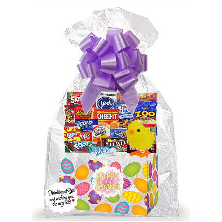 - Easter Egg Thinking Of You Cookies, Candy & More Care Package Snack Gift Box Bundle Set - Arrives in 3-4Business Days