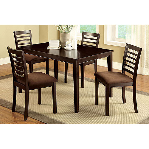 Venetian Eaton I 5-Piece Dining Room Set, Espresso by Furniture of America