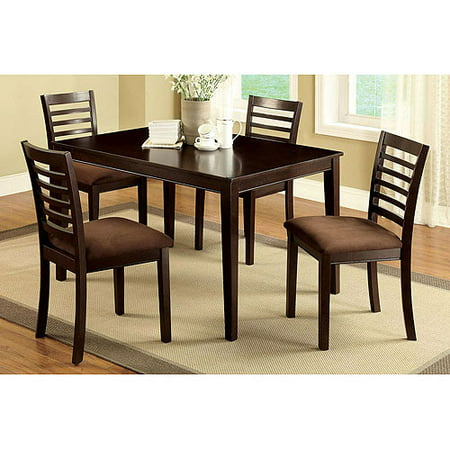 Venetian Worldwide Eaton I 5-Piece Dining Set, Espresso
