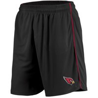 Men's Majestic Black Arizona Cardinals Mesh Shorts