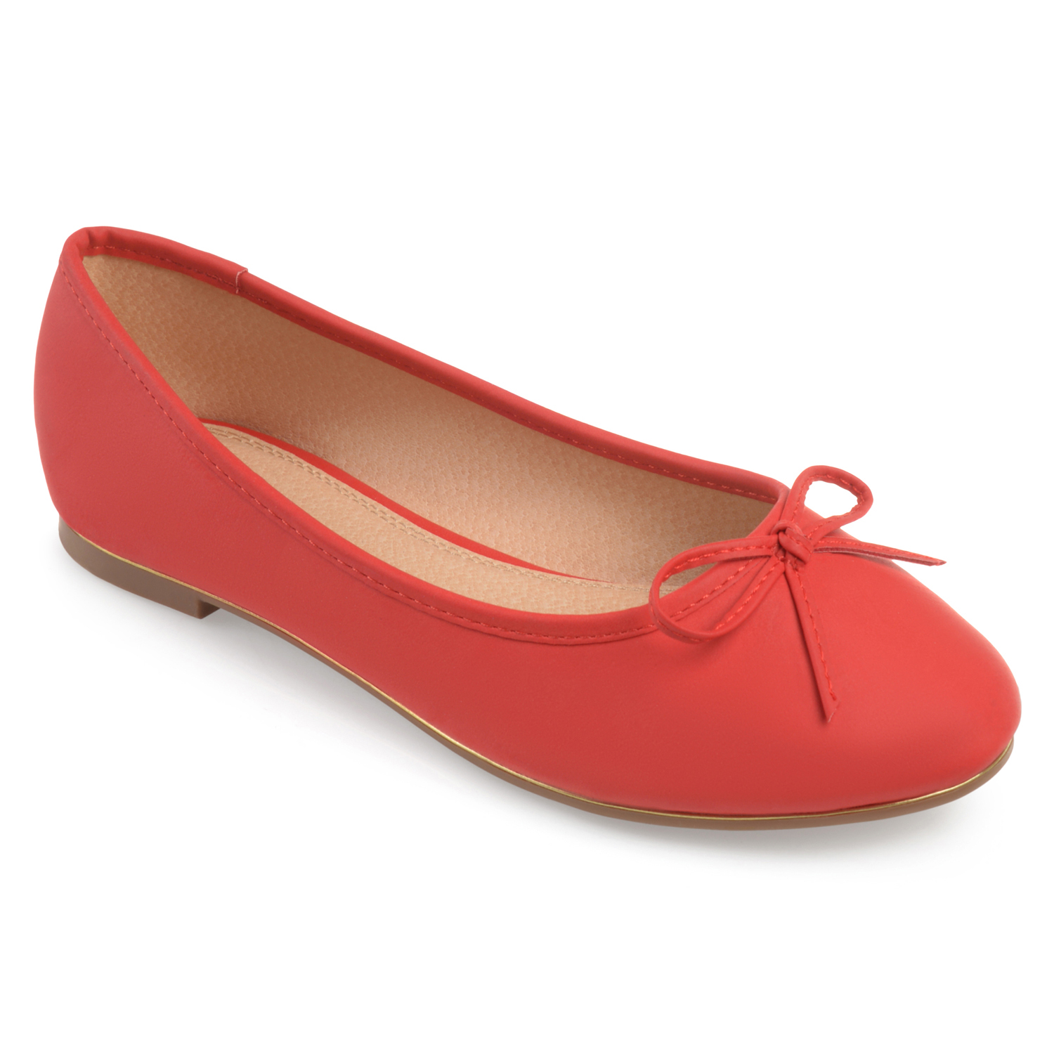 Brinley Co. Women's Bow Detail Wide Width Ballet Flats by Brinley Co.
