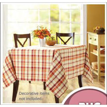 Better Homes And Gardens Harvest Plaid Tablecloth