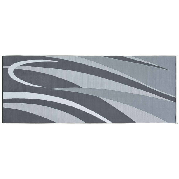 Stylish Camping Reversible Graphic Patio Mat Walmart Com Walmart Com