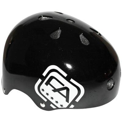 Street Helmet Gloss - Free Agent Helmet Street Gloss Black