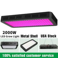 2000W Led Grow Light Lamp Panel Full Spectrum Hydroponic Plant Growing Indoor