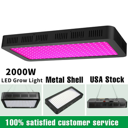 2000W Led Grow Light Lamp Panel Full Spectrum Hydroponic Plant Growing Indoor Grow Light Package