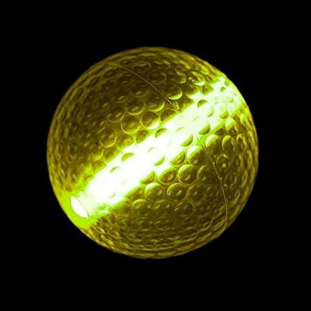Glow Stick Golf Ball Yellow by, Blinkee Fun! By blinkee - Golf Swizzle Sticks