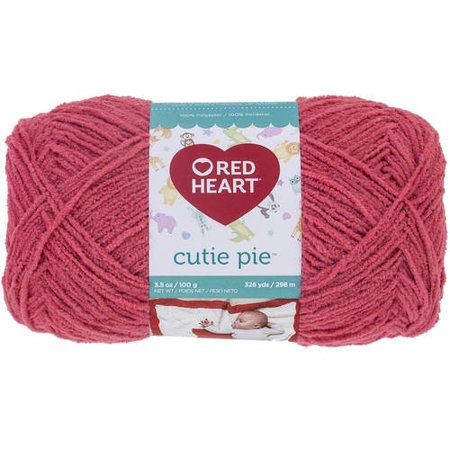 Red Heart Cutie Pie Yarn, Available in Multiple Colors