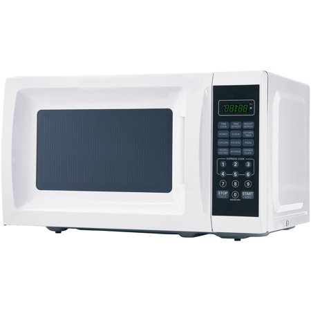 Mainstays 0.7 Cu. Ft. 700W White Microwave with 10 Power (Best Conventional Microwave Oven)