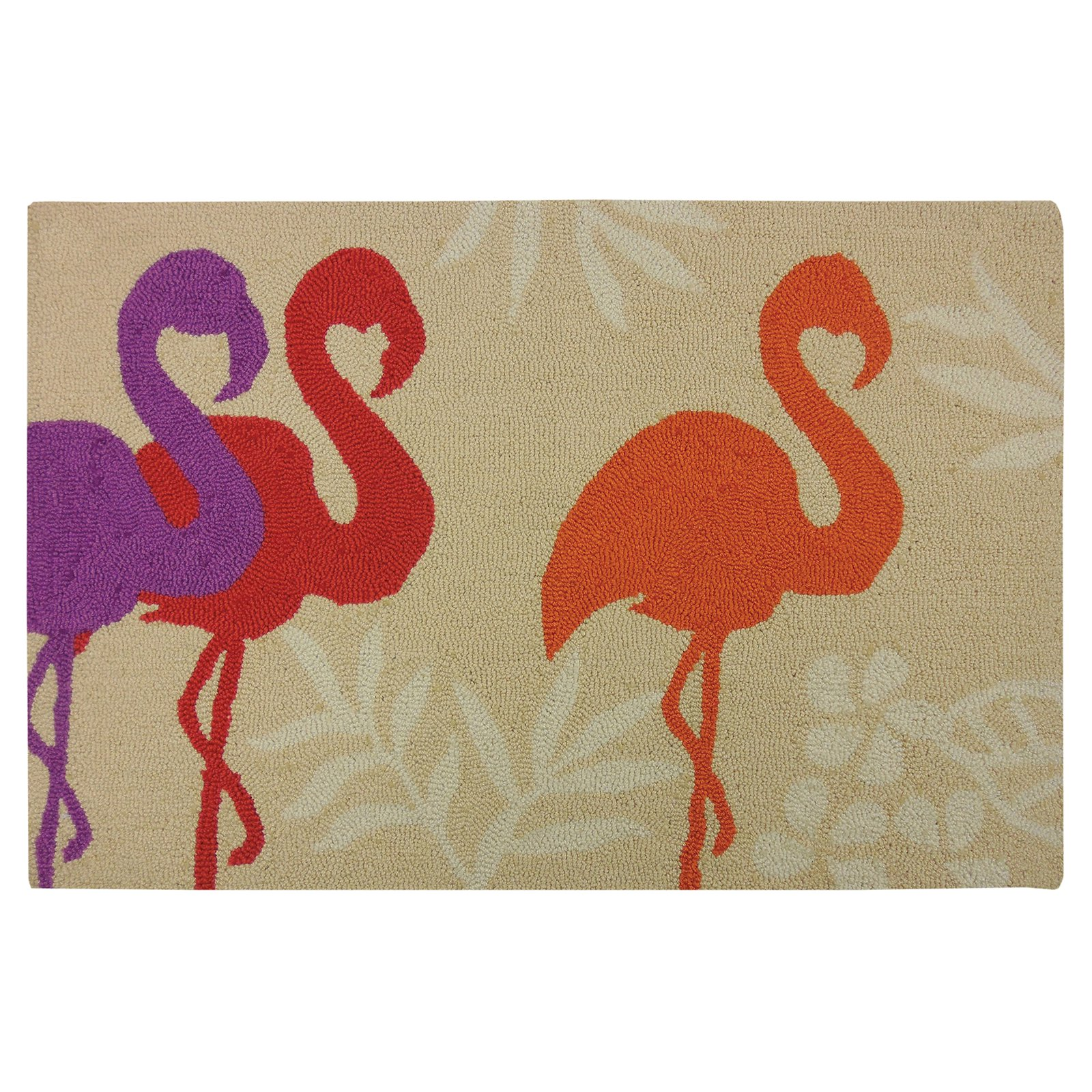 Homefires Flamingo Silhouette Indoor Doormat