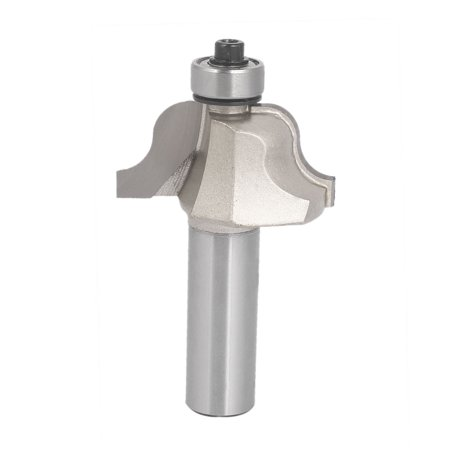 """Unique Bargains 1/2"""" x 1"""" Carbide Tipped 2-Flute Roman Ogee Router Bit Cutter w Ball Bearing"""