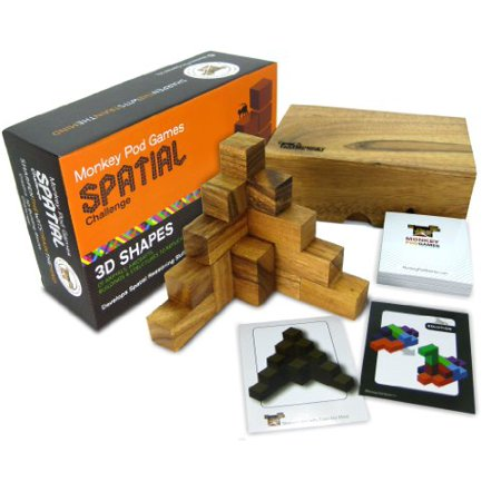 Monkey Pod (Monkey Pod Games Spatial Challenge - One of the Best Soma Cube Sets Ever)