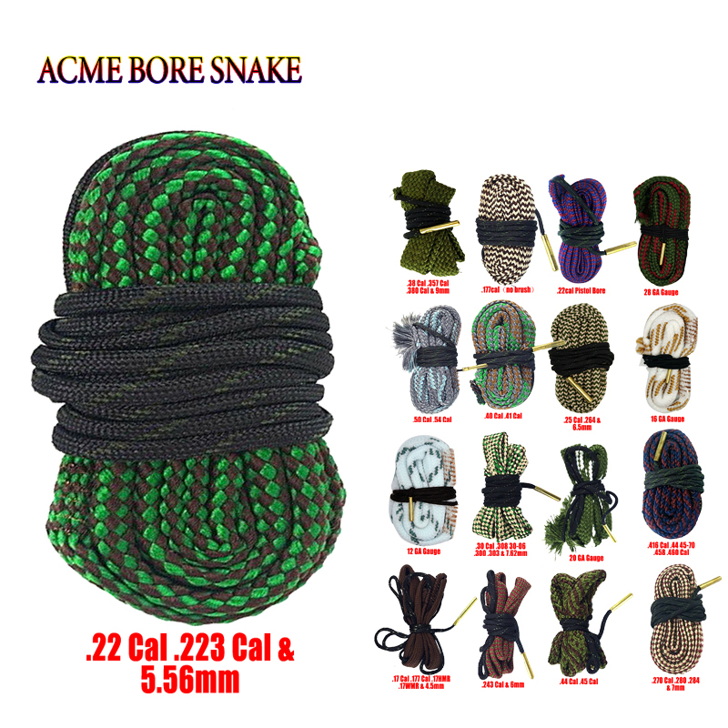 + Bronze Brush .22 for Rifle//Pistol//Handgun Free Magnetic Organizing Clip Rotchi Circular Bore Snake-Rope Cleaning Kit .22cal Wide Chamber Entrance W2 1//2 63 mm