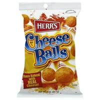 Herr's Cheese Balls, 8 oz