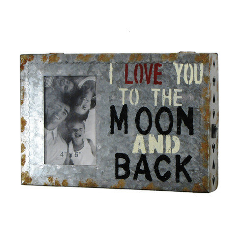 Wilco Home ''I Love You  to the Moon'' Textual Art