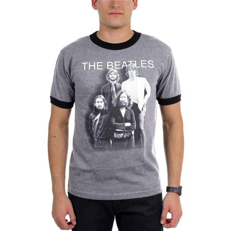 The Beatles - Shadow Cast Adult Ringer T-Shirt