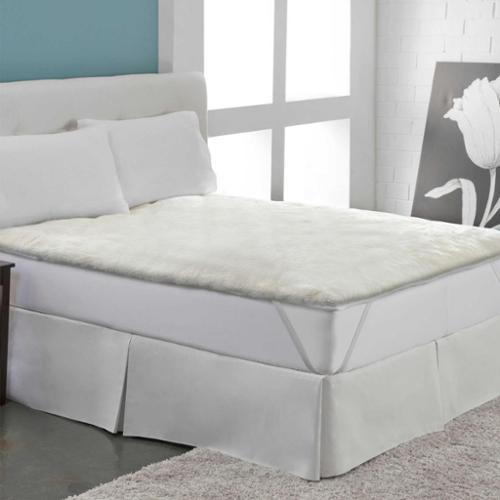Warm Ultra Plush Sherpa Mattress Pad Full
