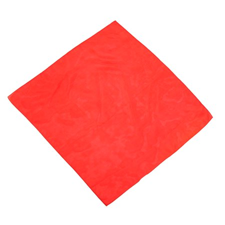 Red Silk Handkerchief Magiciaion Clown Stage Prop Prom Suit Tux Jacket Pocket - Prom Props