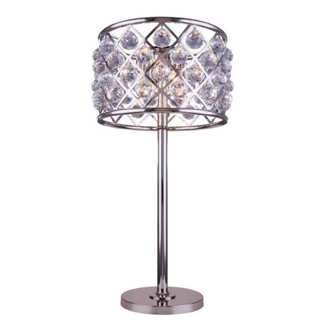Elegant lighting madison 32 3 light royal crystal table lamp for Solidworks design table zoom