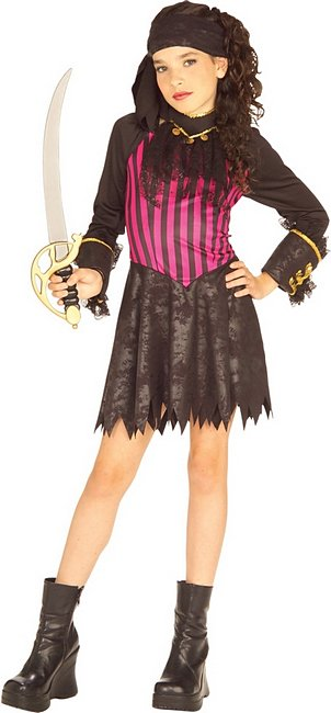 Rubies Girls 'Pirate Wench' Pirate Halloween Costume by Rubies