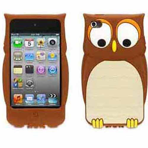 Griffin Kazoo Owl Protective Case for iPod Touch 4th Gen, Fun animal friends for iPod touch (4th gen.)