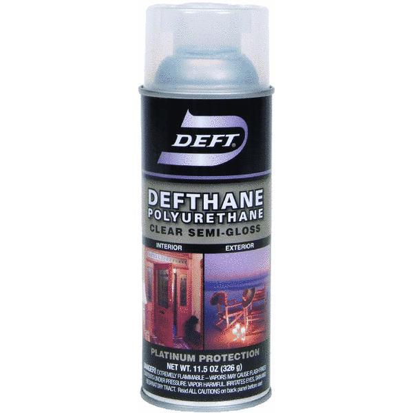 Deft 11.5 Oz Clear Defthane Polyurethane Aerosol Spray Semi Gloss (Set of 6)