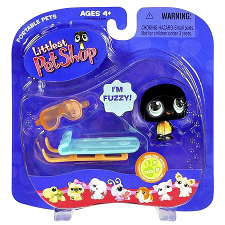 Littlest Pet Shop Portable Pets Penguin Figure [With -