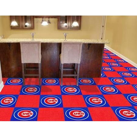 Fanmats MLB 18 x 18 in. Carpet Tiles