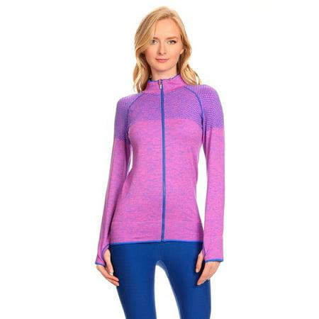 Ultra Light Weight Seamless Active Living Running Jacket