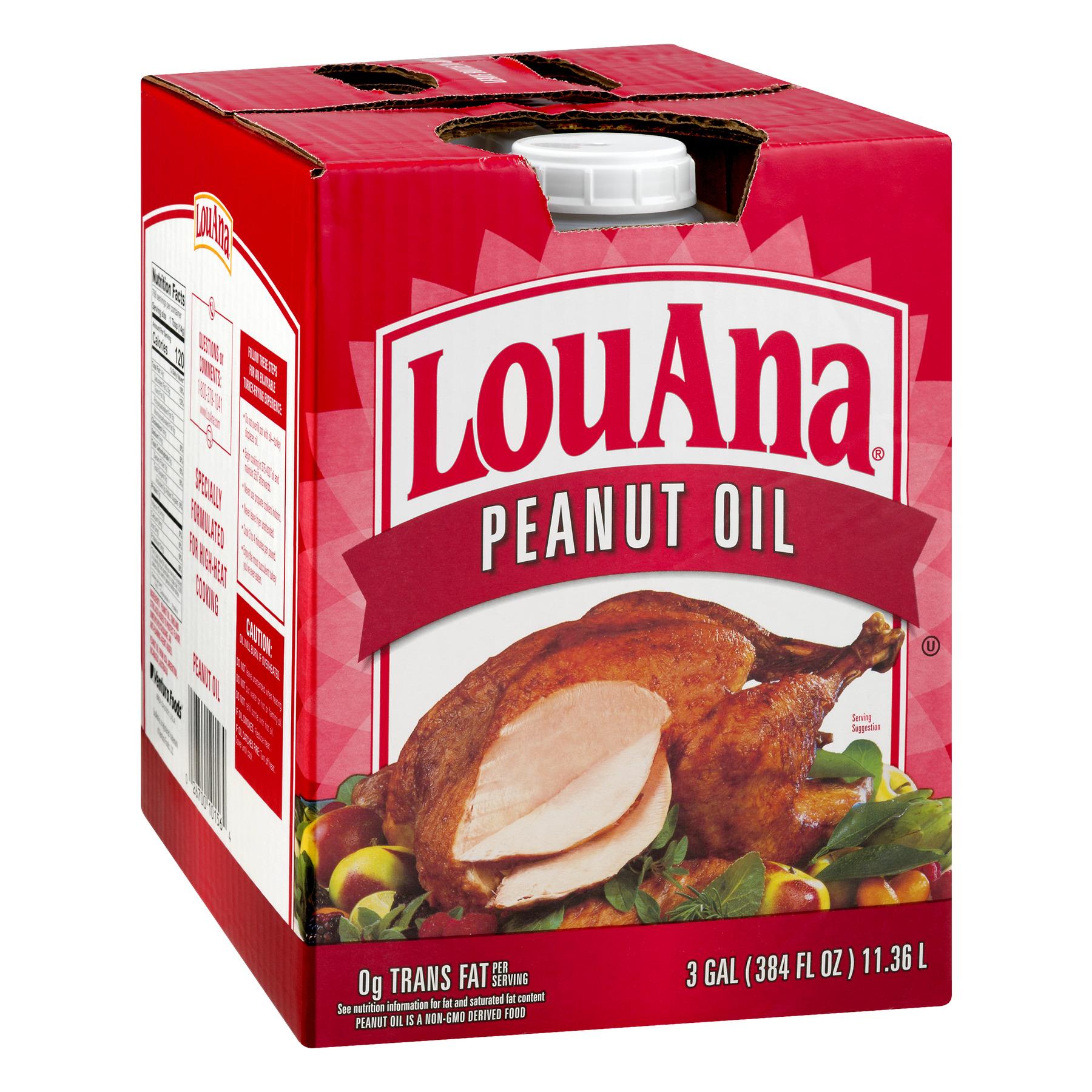 LouAna Peanut Oil, 3 Gallon