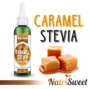 NatriSweet Caramel Stevia Liquid Drops (2 fl oz / 60 Milliliter), Zero-Calorie Natural Sugar Substitute, Highly Concentrated Stevia Extract, Naturally Flavored