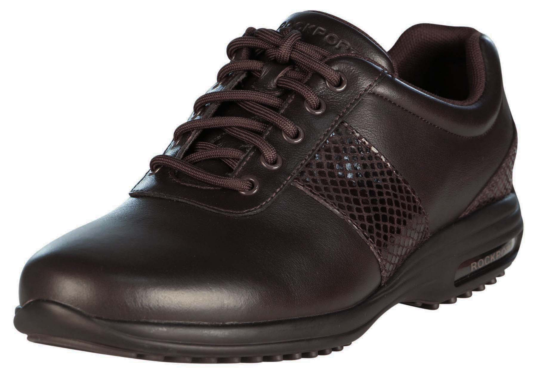 Rockport Men's City Routes Panel Plain Toe Shoe-Dark Bitter Chocolate by Rockport