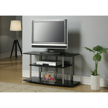 Convenience Concepts Designs2Go No Tools 3 Tier Wide TV Stand, Multiple - Convenience Center