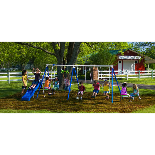 Epic Flexible Flyer Fantastic Playground Metal Swing Set
