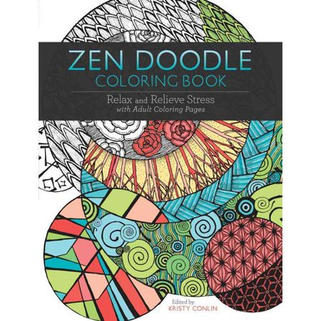 Zen Doodle Adult Coloring Book Relax And Relieve Stress With Pages