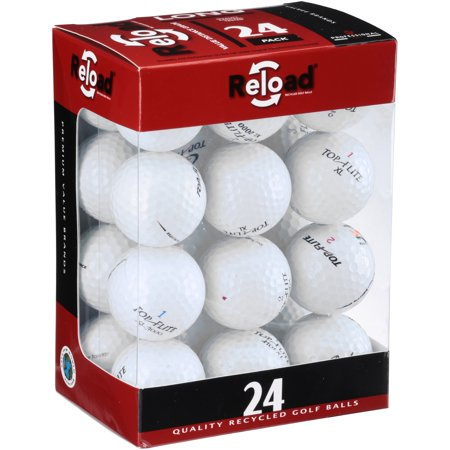 - Top Flite Golf Balls, Used, Near Mint Quality, 12 Pack