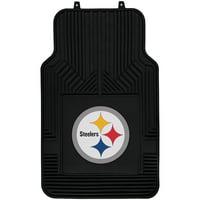 NFL Pittsburgh Steelers Floor Mats - Set of 2
