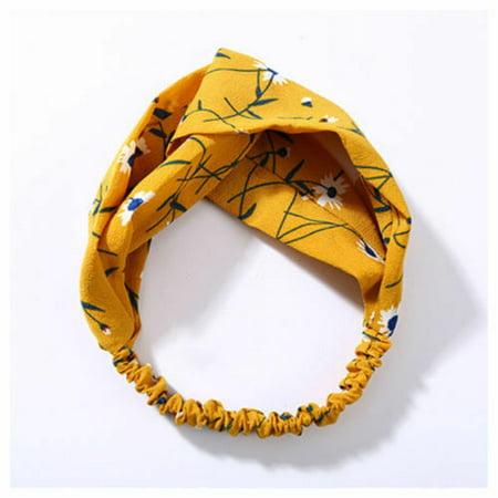 Fashion Women Girl Turban Twist Knot Head Wrap Headband Twisted Knotted Hair Hair Wrap Twist
