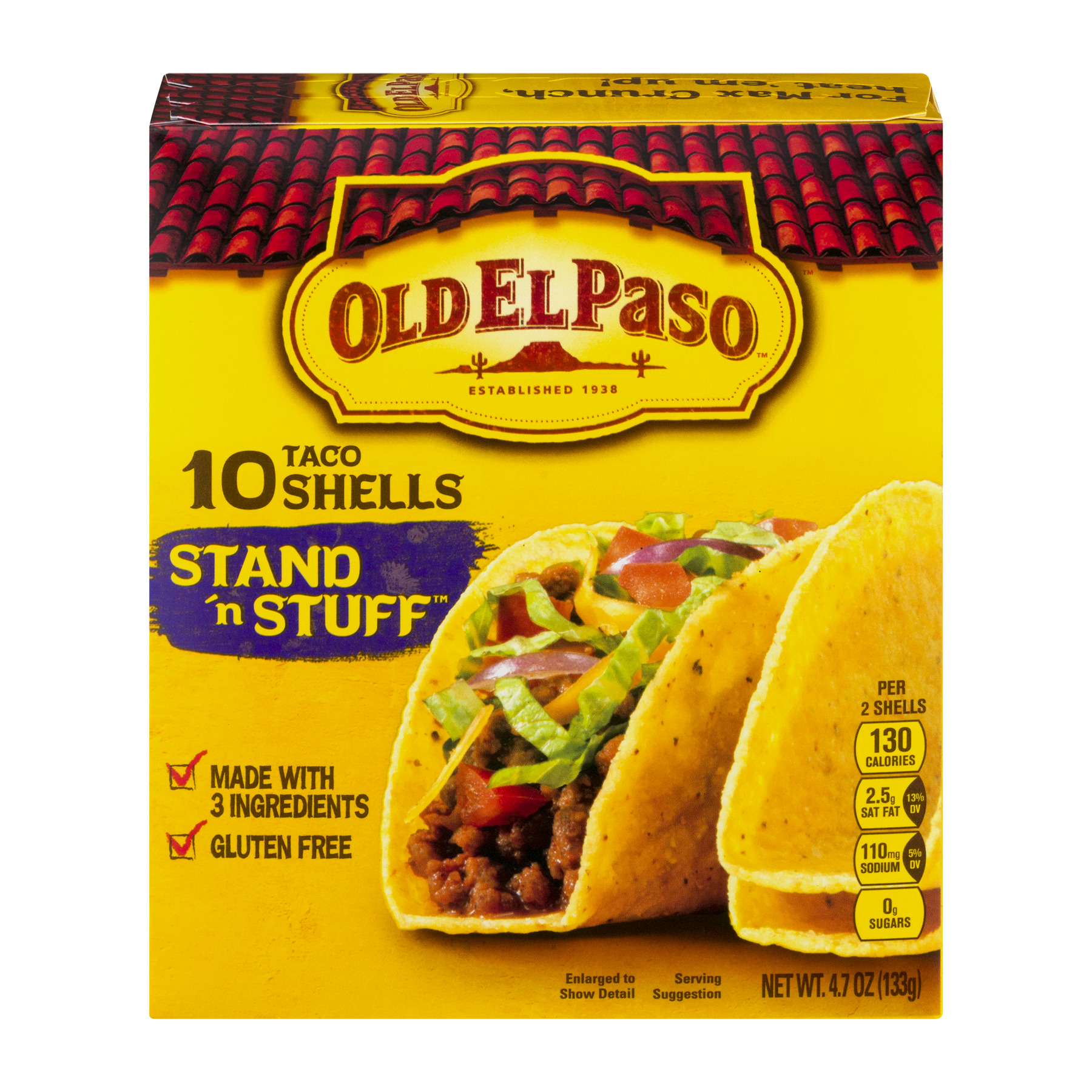 Old El Paso™ Stand 'n Stuff Shells 10 ct 4.7 oz Box