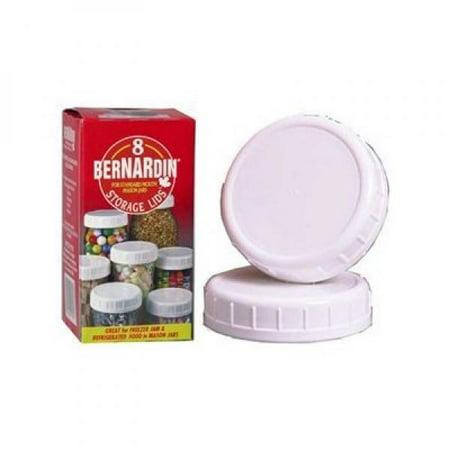 Bernardin Mason Jars (Bernardin Mason Jar Caps - Plastic -)