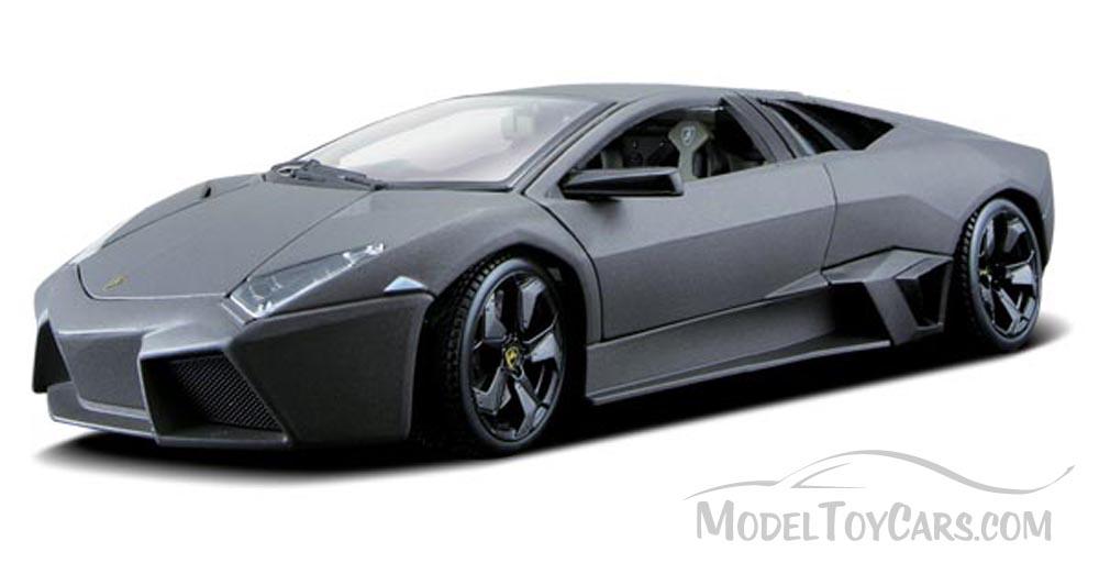 Lamborghini Reventon Gray Bburago 11029 1 18 Scale Diecast Model