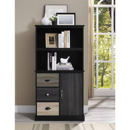 Ameriwood Home Blackburn Storage Bookcase With