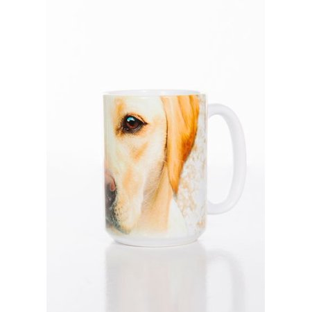Yellow Lab Face 15oz Mug