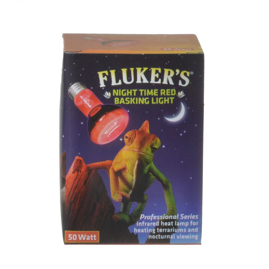 Fluker's Night Time Red Basking Spotlight, 50 Watt