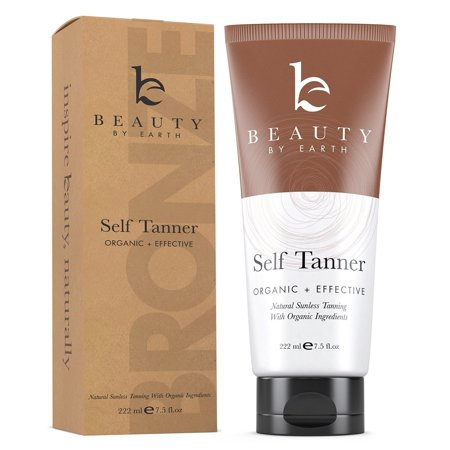 Self Tanner - Organic & Natural Sunless Tanning Lotion for Best Bronzer and Golden