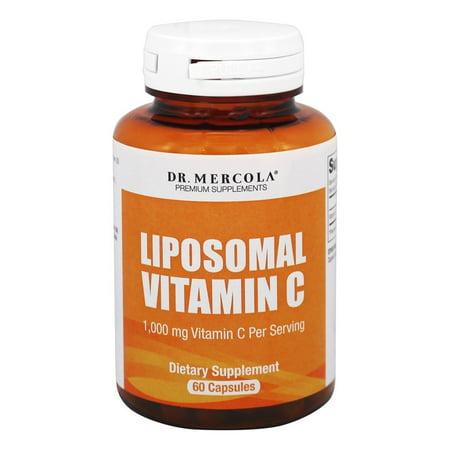 Dr. Mercola Produits Premium - liposomale vitamine C - 60 Capsules