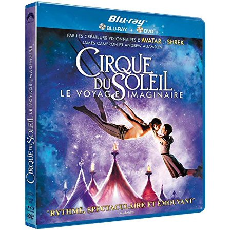 Cirque du Soleil: Worlds Away (2012) (Blu-Ray & DVD Combo) [ Blu-Ray, Reg.A/B/C Import - France (Best Of Cirque Du Soleil)