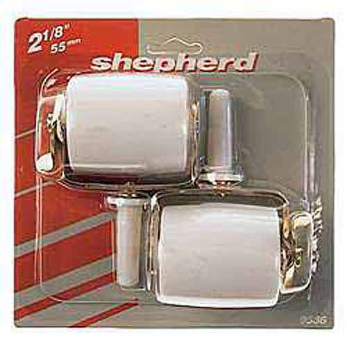 "Shepherd 9536 2-Count 2-1/8"" Wide Wheel Bed Casters with Brake"